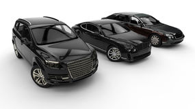 Flotte de luxe de voiture illustration de vecteur