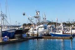 Flotte de pêche commerciale Image stock