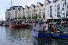 Flotte de pêche de Galway Photographie stock libre de droits