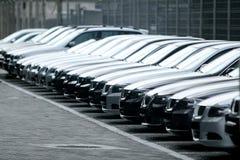 Flotte de véhicules Photo libre de droits