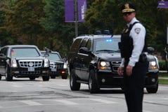 flotte de voiture de président Photos libres de droits