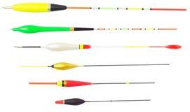 Flotte la pêche différente Photos stock