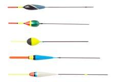 Flotte la pêche différente Photo libre de droits
