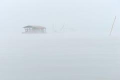 Flottement dans le brouillard Photos libres de droits