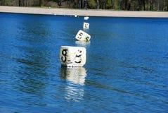 flottement de cubes Photo libre de droits