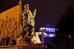 Flotteur chinois de défilé Images libres de droits