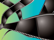 Flotteur de fond de film Photographie stock libre de droits