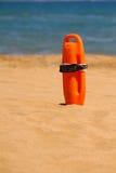 Flotteur de maître nageur images libres de droits