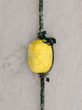 Flotteur et corde Image stock