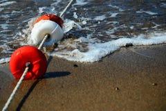 Flotteur protecteur de plage Photo stock