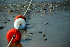 Flotteur protecteur de plage Image stock