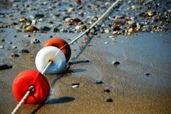 Flotteur protecteur de plage Images stock