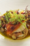 Flounder char fish Stock Images