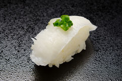 Flounder sushi Stock Photos