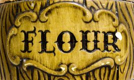 Flour Royalty Free Stock Photography