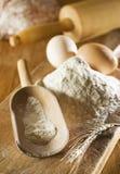Flour royalty free stock photo