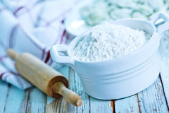 Flour Stock Photos