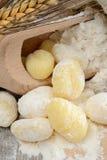 Flour dumplings gnocchi Royalty Free Stock Photo