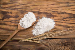 Flour from durum wheat Stock Images
