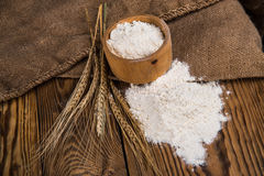 Flour from durum wheat Royalty Free Stock Photo