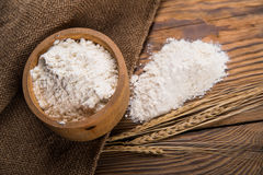 Flour from durum wheat Royalty Free Stock Photography