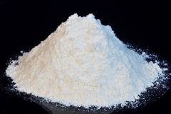 Flour is a food product in cooking for making bread, cakes, pastries, spaghetti. Flour is obtained by grinding grains of. Agricultural crops, mainly cereals royalty free stock photos