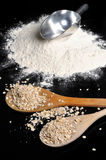 Flour and grain Royalty Free Stock Photos