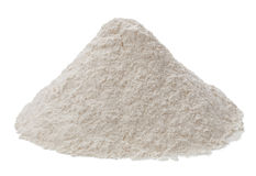 Flour isolated on a white background Stock Image