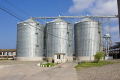 Flour mill Royalty Free Stock Images