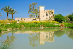 Flour Mill, En Afek Stock Photography