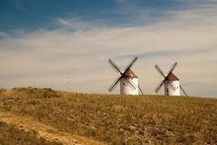 Flour mill. La Mancha Stock Photo