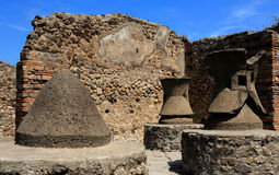 The flour mills in  Pompeii Royalty Free Stock Images