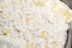 Flour Mix Stock Photography