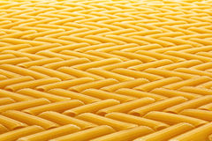 Flour pasta in zigzag pattern. Stock Images
