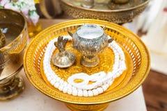 Flour prepared for wedding holy Stock Photos