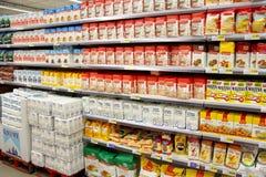 Flour for sale Stock Photos
