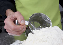 Flour sieve Royalty Free Stock Image