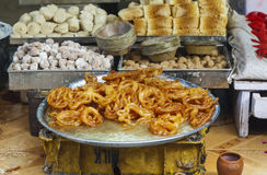 Flour street food in India Royalty Free Stock Image
