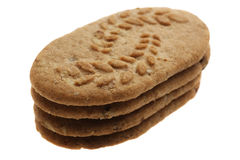 Flour tasty cookies Stock Photo