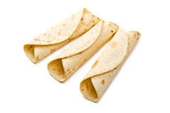 Flour tortillas Royalty Free Stock Image
