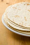 Flour tortillas Royalty Free Stock Images