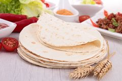 Flour tortillas Royalty Free Stock Photos