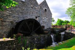 Flour (water wheel)  Mill. Stock Photography
