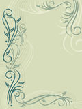 Flourish Background Royalty Free Stock Photo