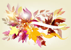 Flourish background with space for text Royalty Free Stock Image