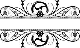 Flourish de Steampunk Imagen de archivo
