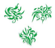 Flourish decorations Royalty Free Stock Photography