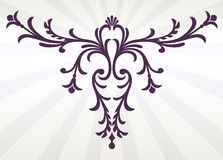 Flourish decorativo imagens de stock royalty free