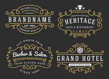 Free Flourish Frame For Labels, Banner, Logo Royalty Free Stock Images - 57131079