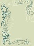 Flourish-Hintergrund Lizenzfreies Stockfoto
